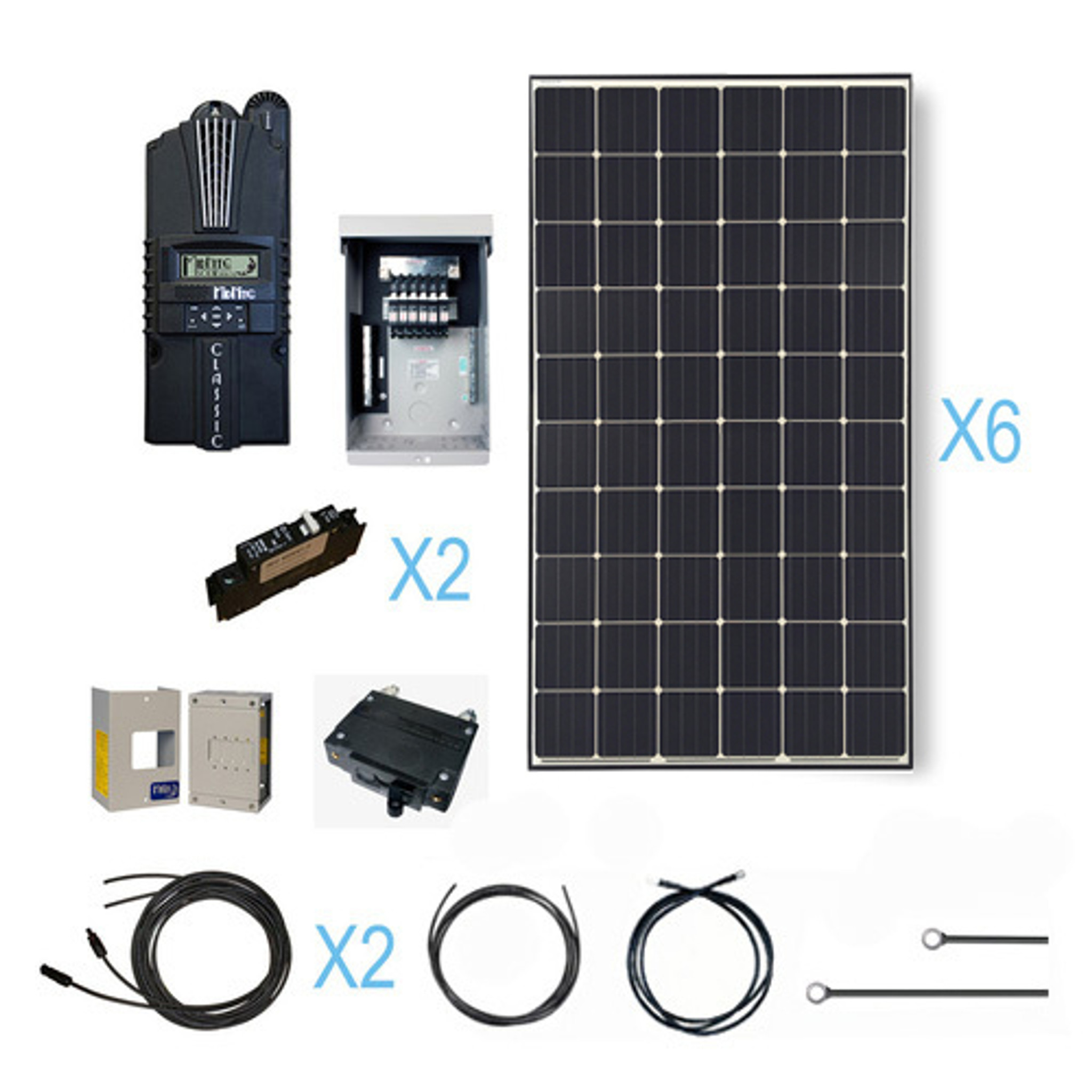 medium resolution of renogy 1800 watt 24 volt monocrystalline solar cabin kit