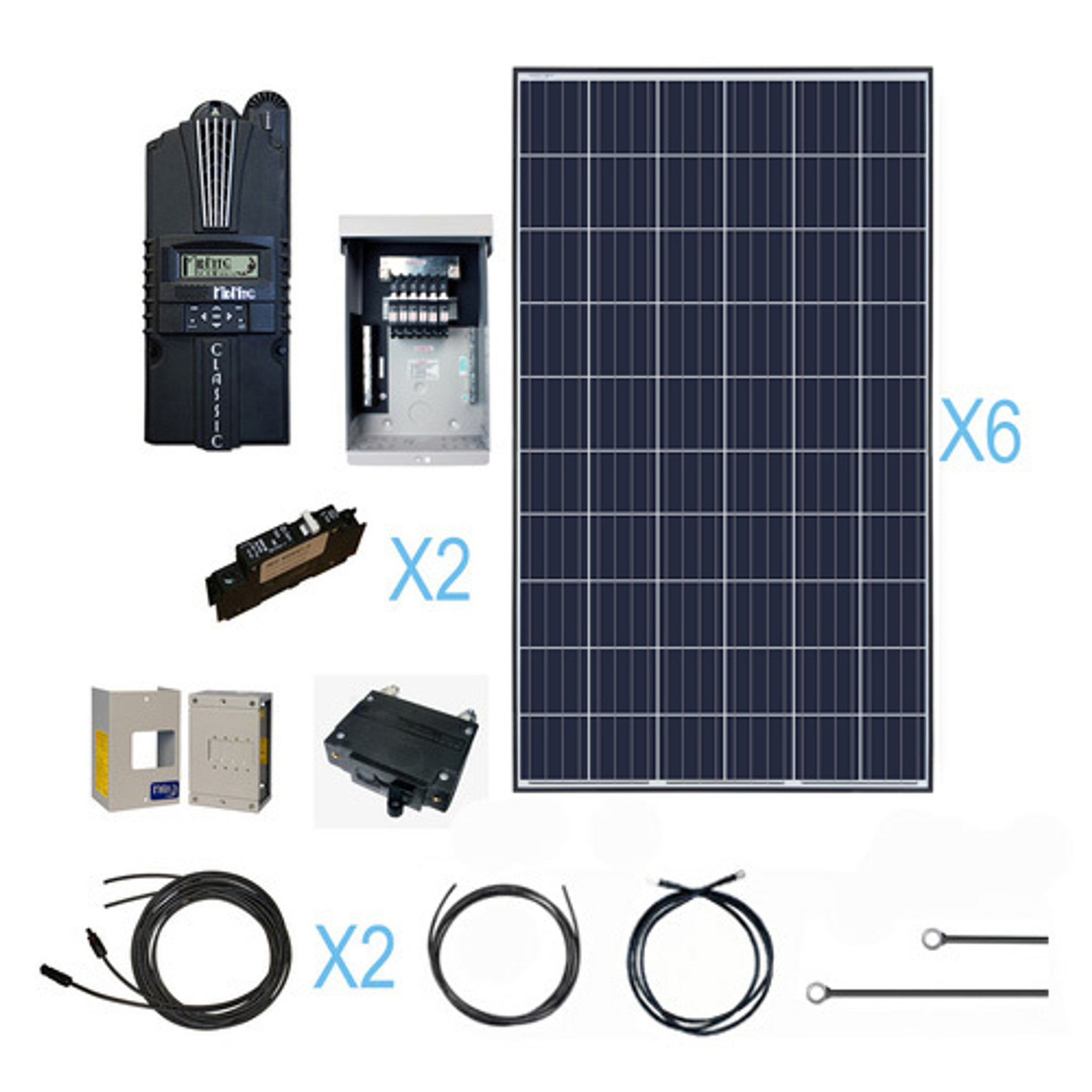 medium resolution of renogy 1600 watt 24 volt polycrystalline solar cabin kit