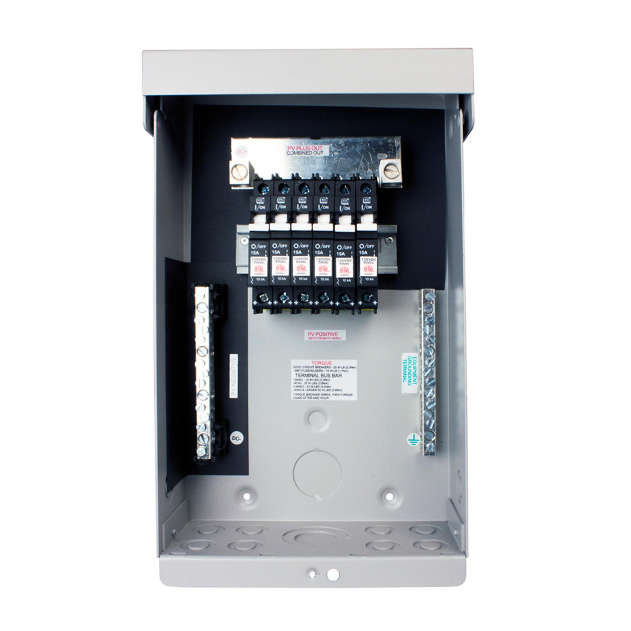 medium resolution of midnite solar combiner box
