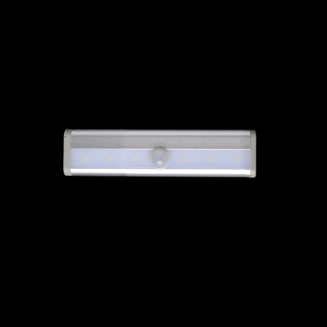mini led motion sensor kitchen under cabinet shelf counter light battery operated