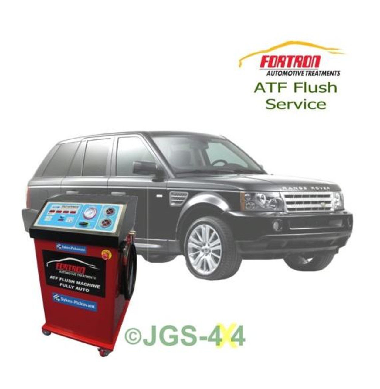 jgs4x4 land rover range rover sport auto gear box atf fortron automatic gearbox mega flush [ 1252 x 1280 Pixel ]