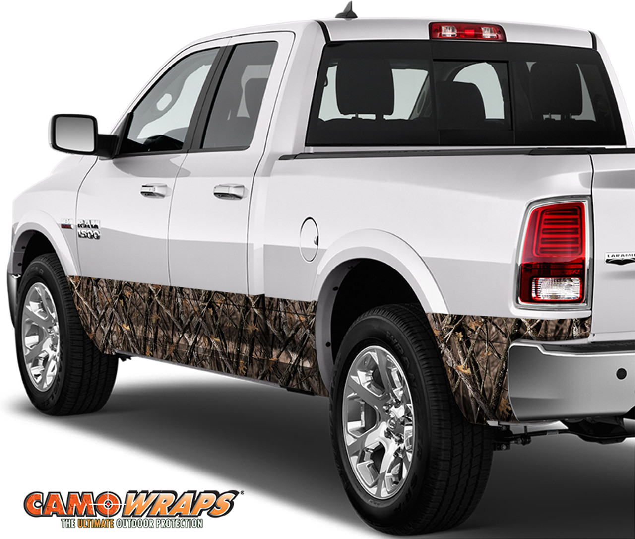 medium resolution of camowraps rocker panel wrap