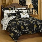 Realtree Ap Black Camo Twin Comforter Camo Bedding Realtree Camo Bed Sets