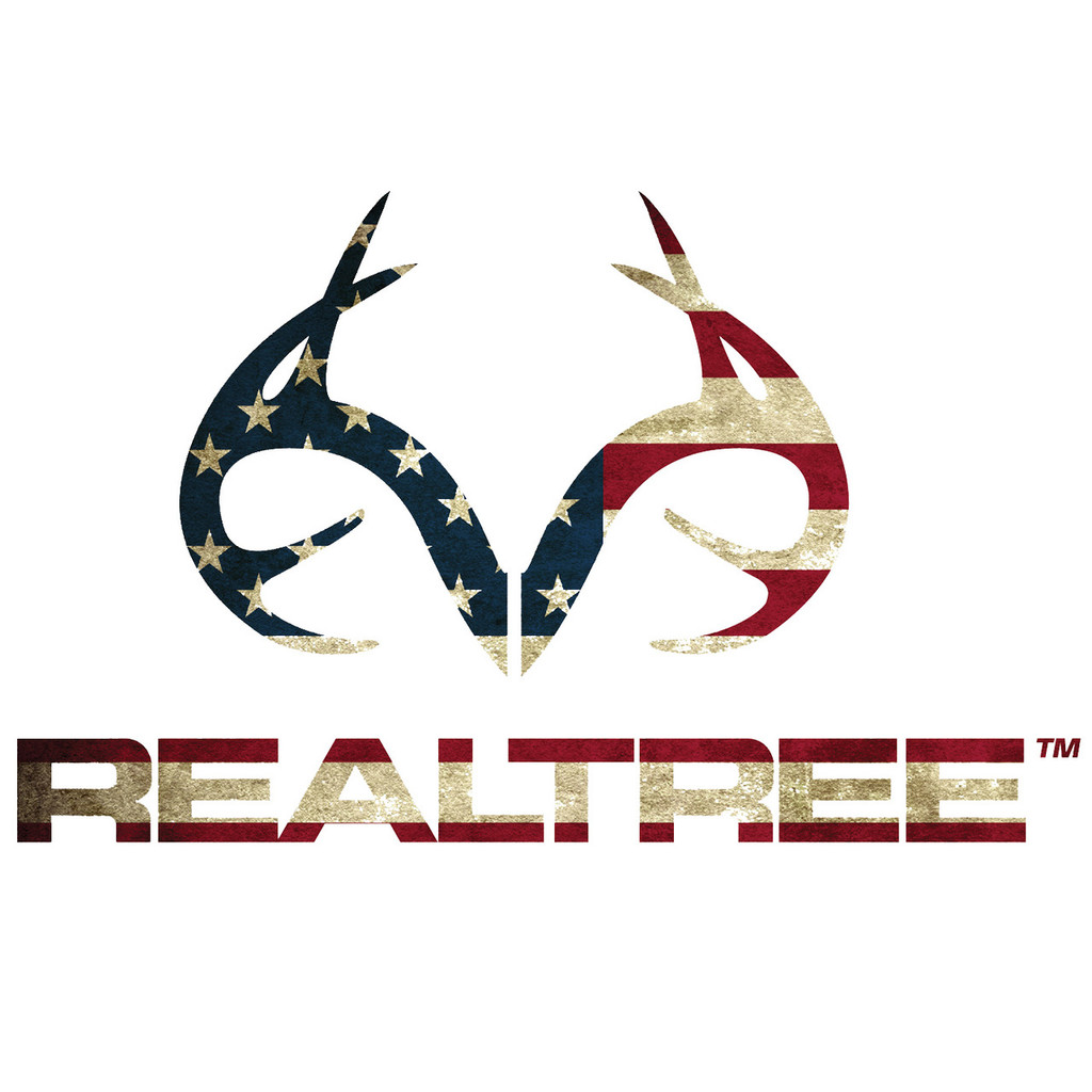 realtree antler patriotic decal