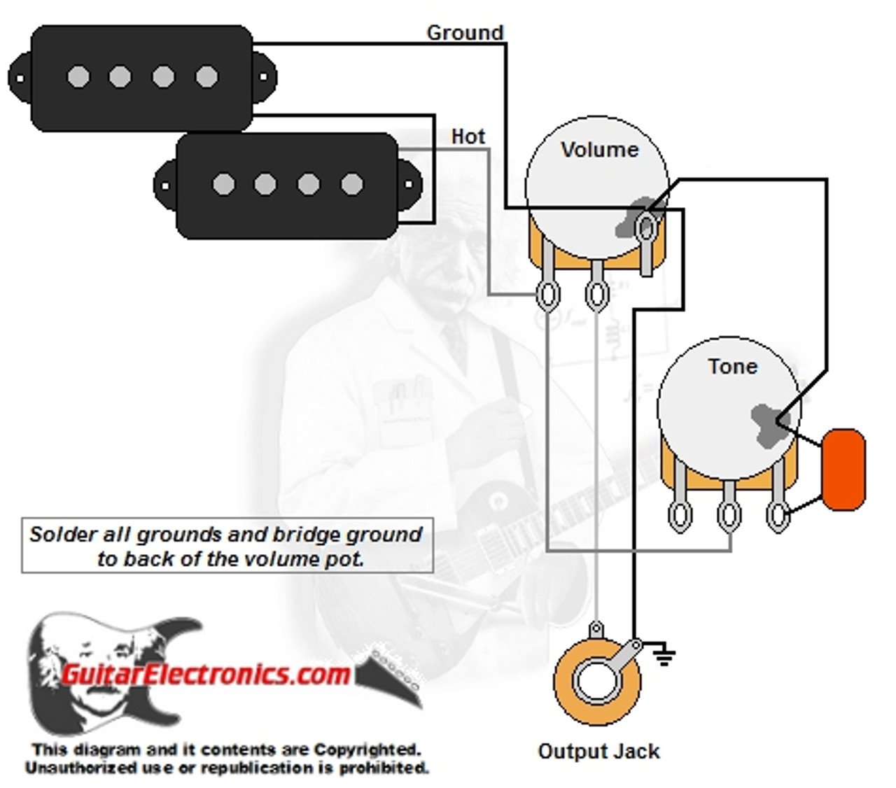 hight resolution of fender precision wiring diagram p bass style wiring diagramrh guitarelectronics com