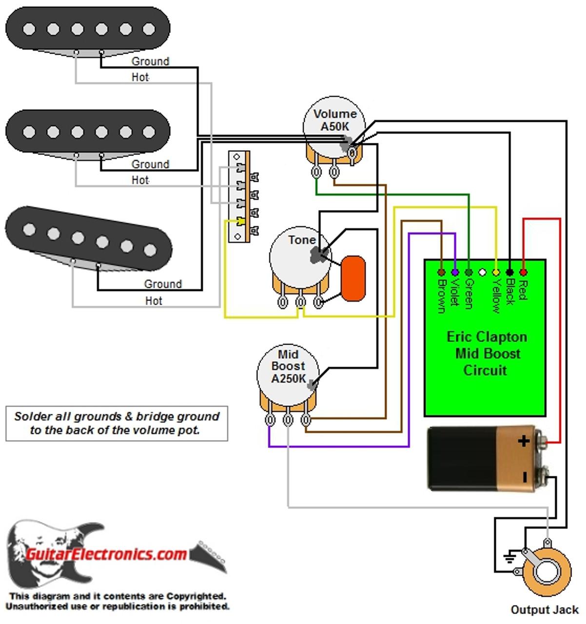 medium resolution of eric clapton wiring schematic guitar diagrams pinterest wiring diagram sample