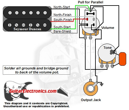 Sg Wiring Diagram Toggle 1 Humbucker 1 Volume 1 Tone Series Parallel