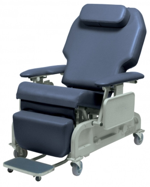 bariatric transport chair 500 lbs asian dining chairs lumex powered recliner 700lb capacity fr588w the features a four function wired hand pendant activates