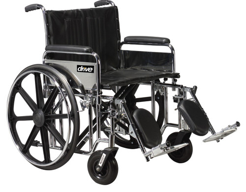 bariatric transport chair 500 lbs diy hammock sentra extra heavy duty wheelchair 20 to 24 width drive weight capacity