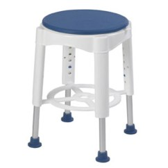 United Chair Medical Stool Revolving On Gem Drive Bathroom Safety Swivel Seat Shower Rtl12061m