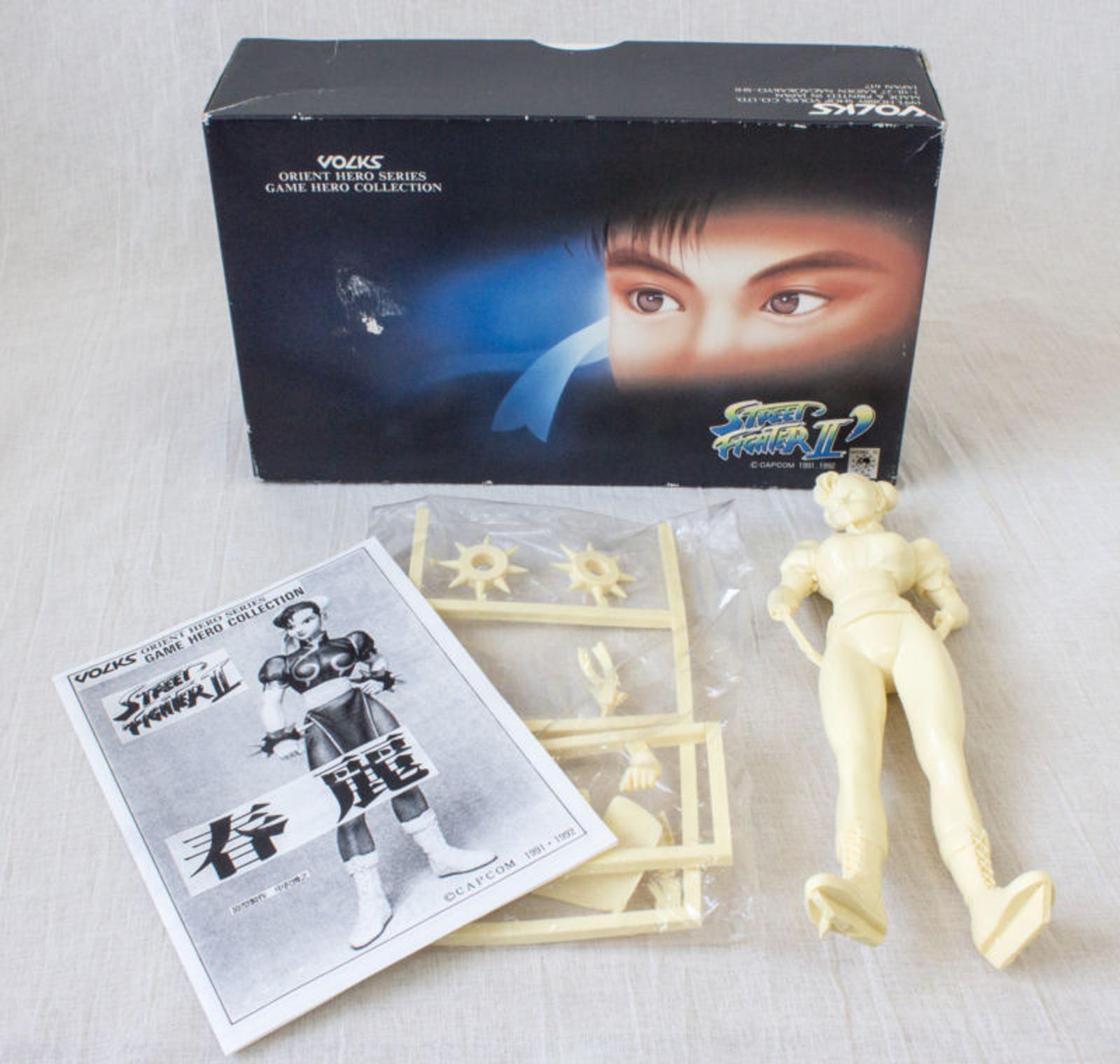 street fighter 2 chun li 1 8 model kit garage kit figure volks capcom japan game
