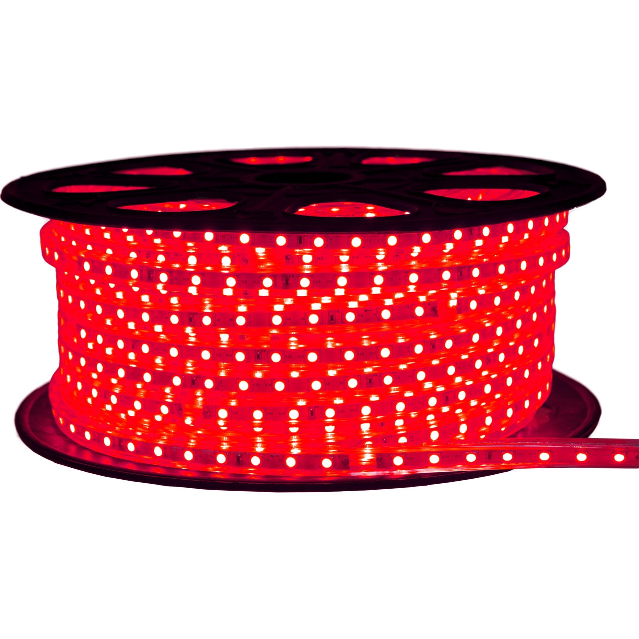 Red Led Strip Light Spool 120v Smd 5050 Lights