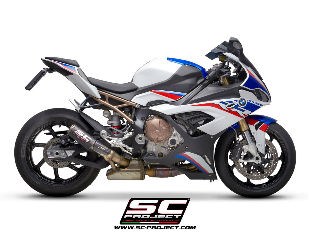 sc project slip on crt exhaust bmw s1000rr 2019 2020