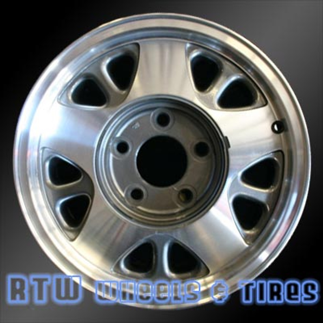 hight resolution of 15 inch chevy astro oem wheels 5025 part 12355109 9591912