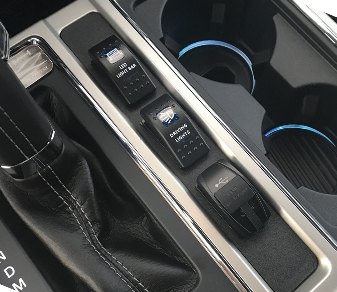 center console switch panel for 2015 ford f 150  [ 987 x 856 Pixel ]