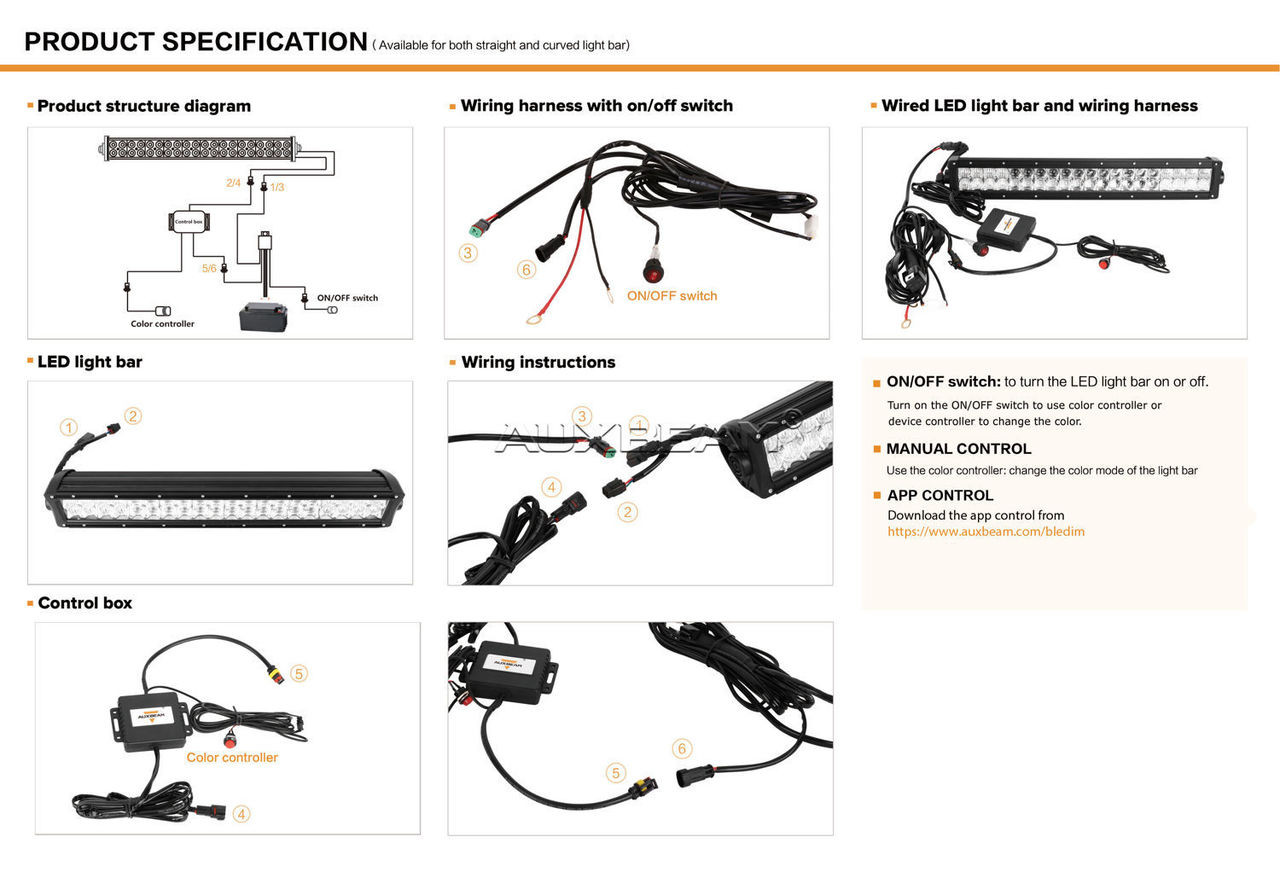 Wiring Harness Diagram For Led Light Bar