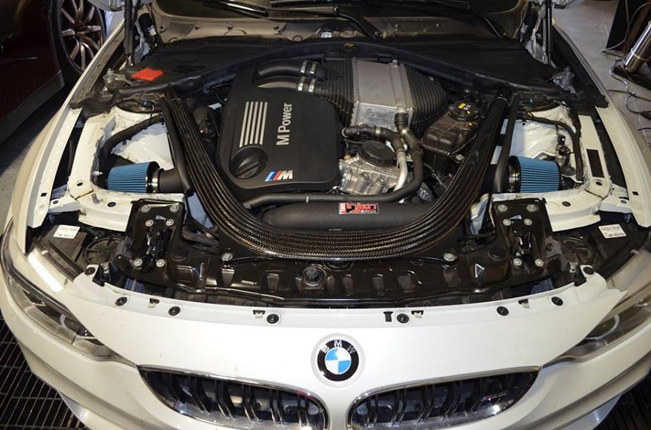 medium resolution of  injen air intake system for 2015 bmw m3 m4 f80 f82