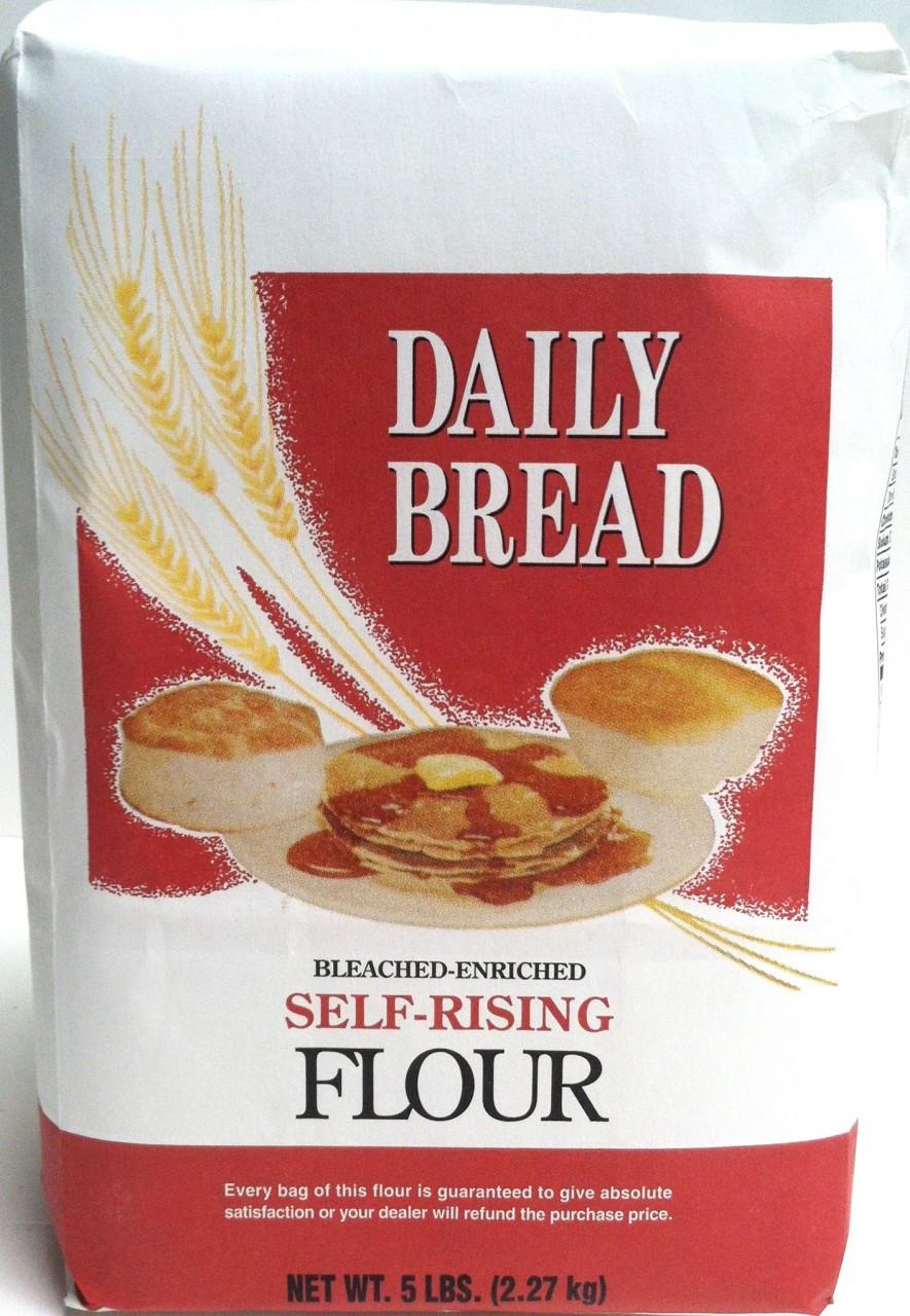 Daily Bread Self-Rising Flour (5lb) - Lakeside Mills