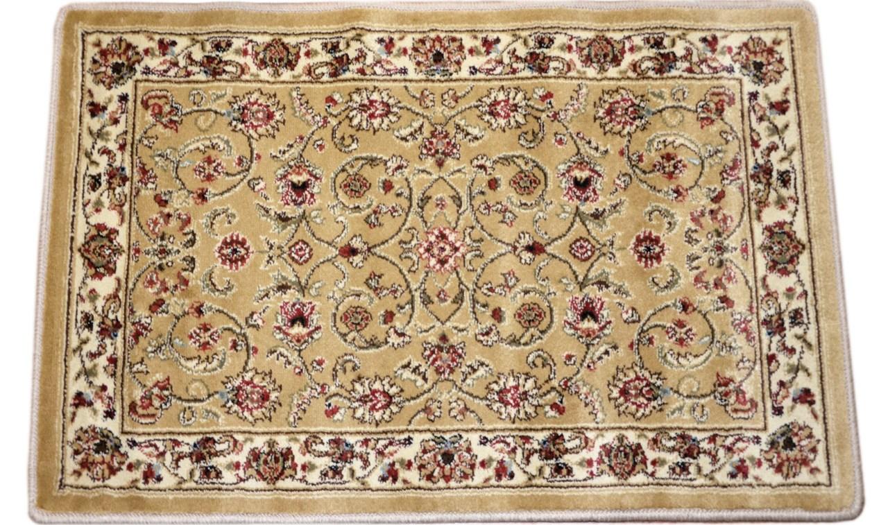 Dean Classic Keshan Gold Oriental Area Rug Landing Mat Set Of 2 | Oriental Carpet Stair Treads | Non Skid | Kings Court | Carpet Runners | Amazon | Stair Runner