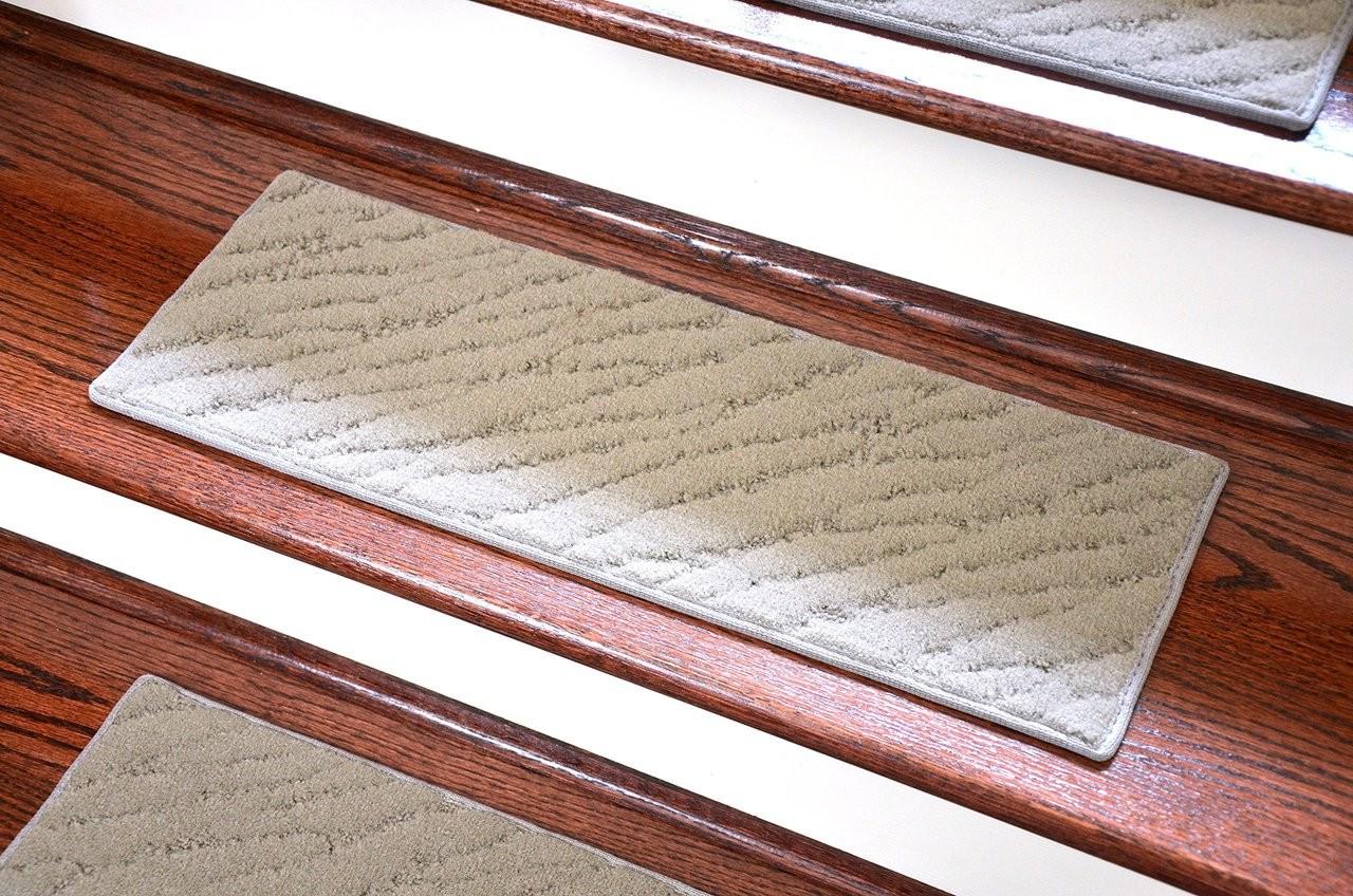 Dean Indoor Outdoor Carpet Stair Treads Set Of 3 Gray | Indoor Outdoor Carpet Runners For Stairs
