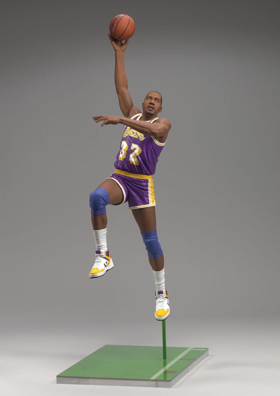 Magic Johnson 2 Los Angeles Lakers 1979 1996 Nba Legends 5 Figure Venom Collectibles