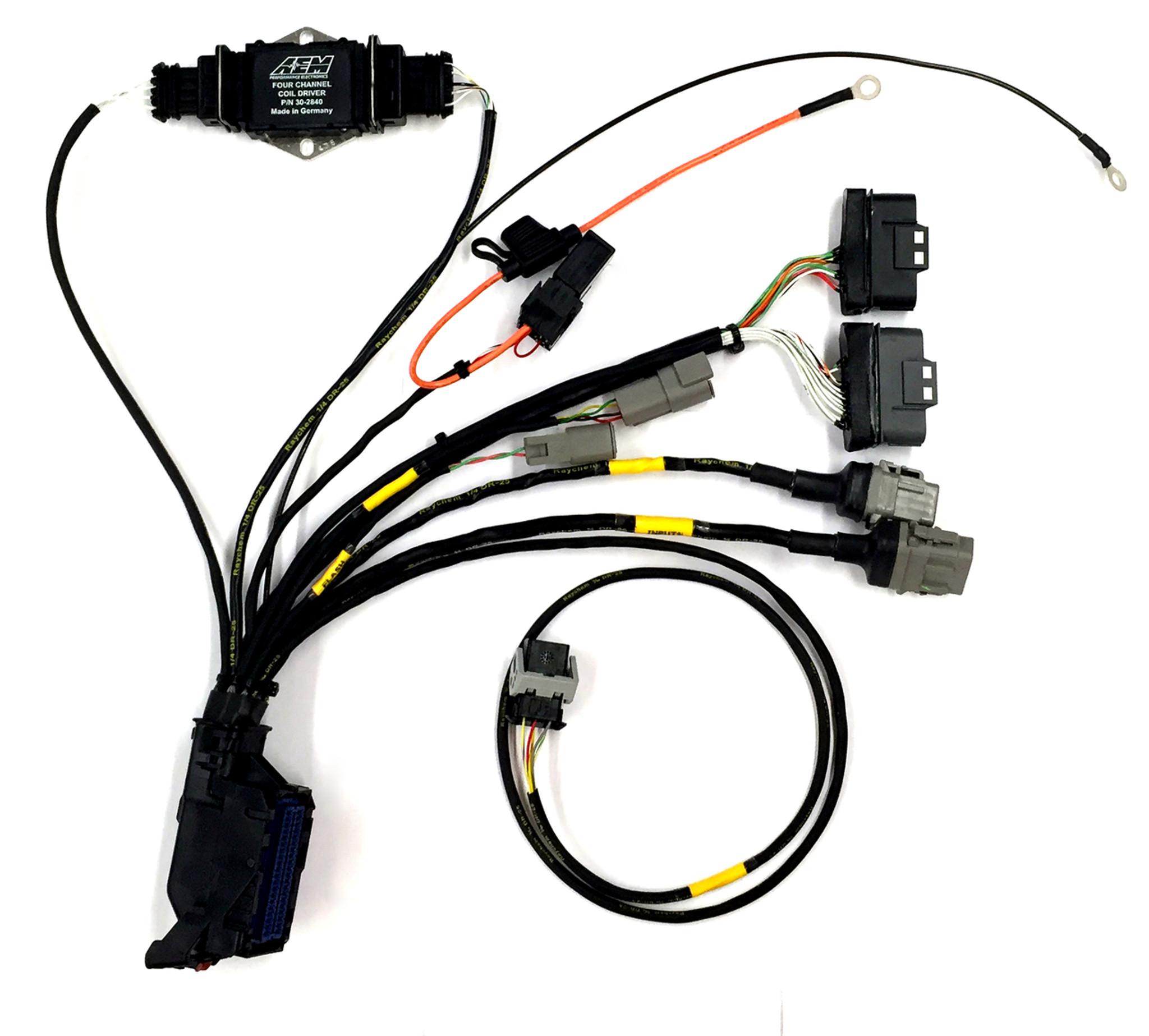 hight resolution of infinity ecu plug and play wiring harness shop htp aem fic wiring harness aem wiring harness