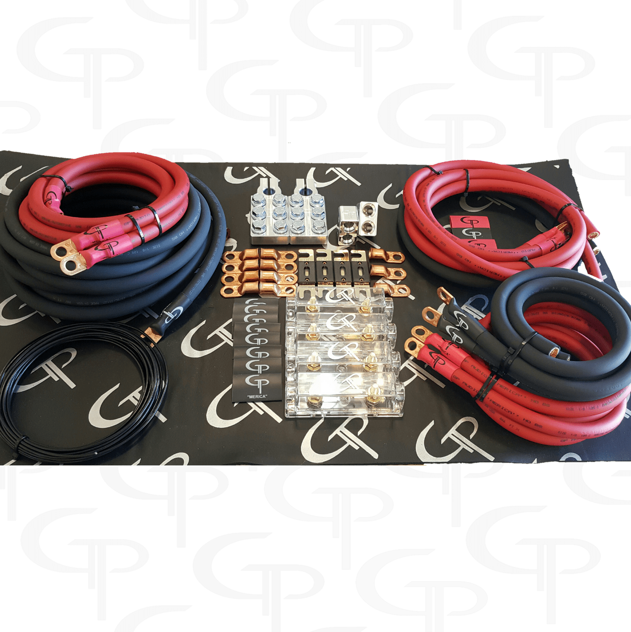 the complete advanced 1 0 awg stage 2 wiring kit gp car audio [ 1279 x 1280 Pixel ]