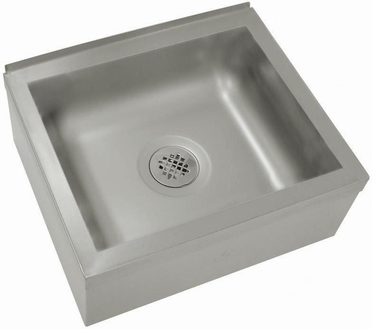 floor mounted mop sink 29 w x 29 d x 16 h