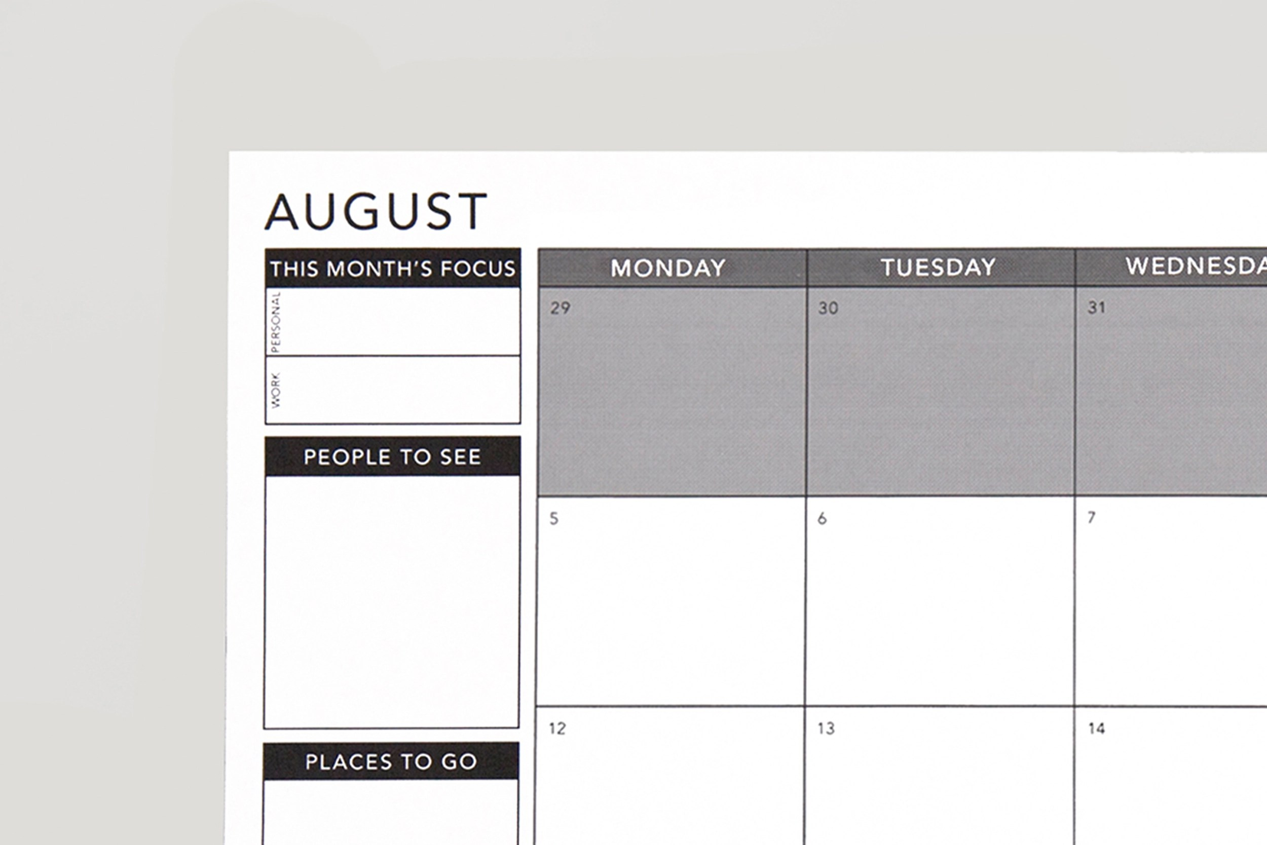 download free planners accessories