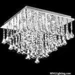 Square Square Modern Crystal Chandelier Flush Mount Ceiling Light Fixture Mc97000 Chandeliers Ceiling Lights Montreal Quebec Canada Usa On Sale Online
