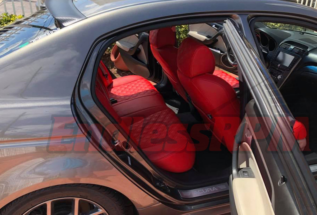 hight resolution of acura tl clazzio custom diamond seat cover replacement