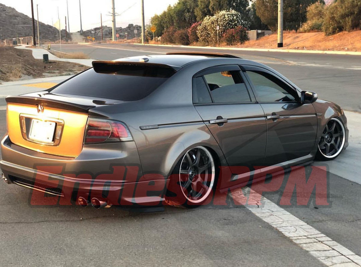 small resolution of 2004 2008 acura tl ua6 ua7 type s base roof spoiler