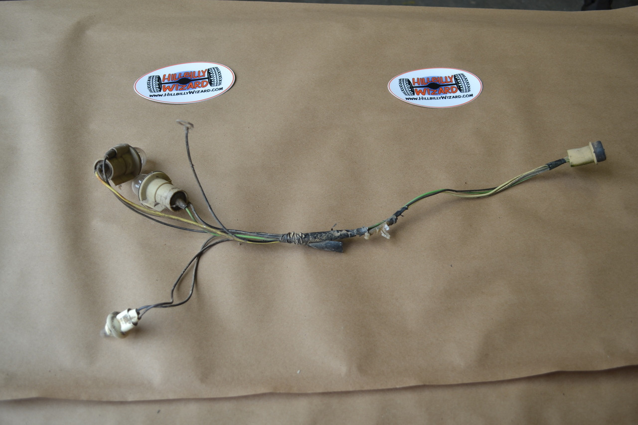 hight resolution of cucv tail light harness hillbilly wizard motorcycle wiring harness cucv wiring harness