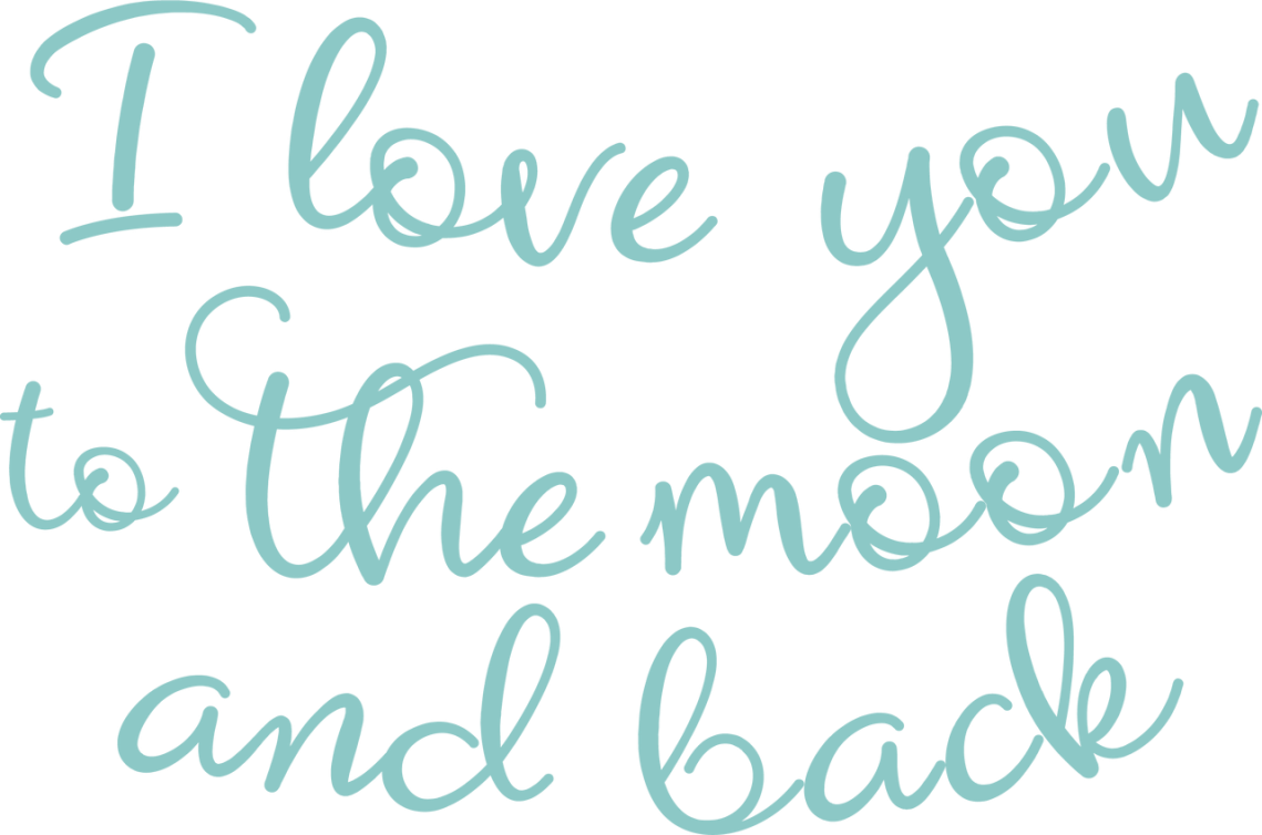 Download I Love You to the Moon and Back #2 SVG Cut File - Snap ...