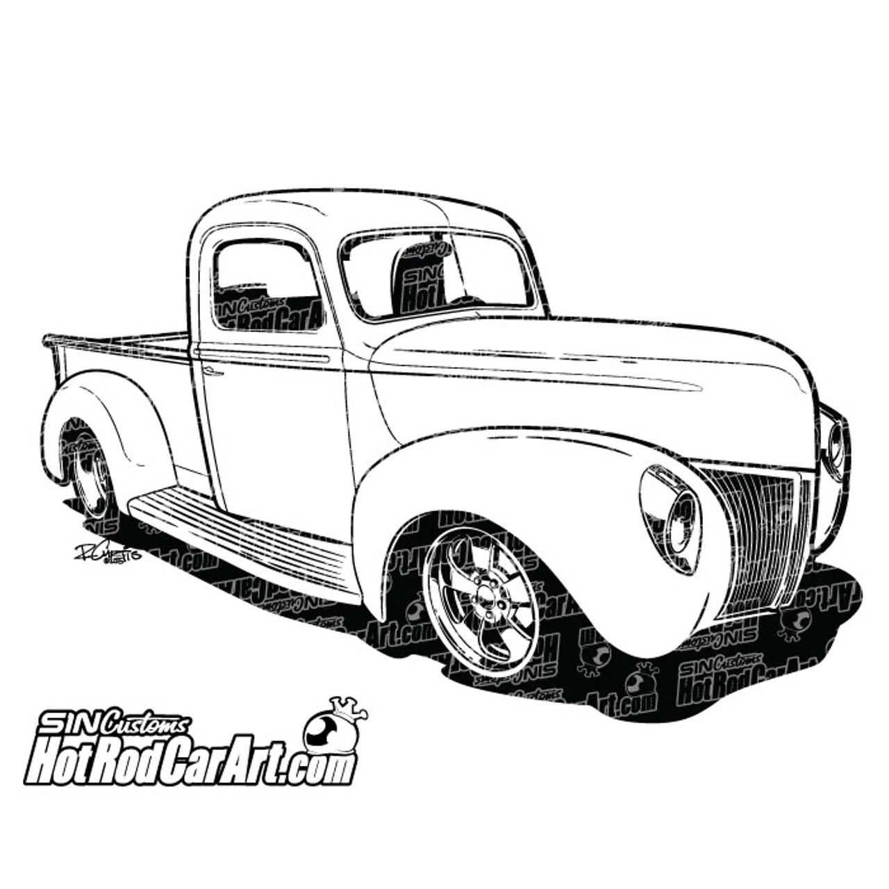 medium resolution of 1940 ford truck 2015 ryan curtis hotrodcarart com
