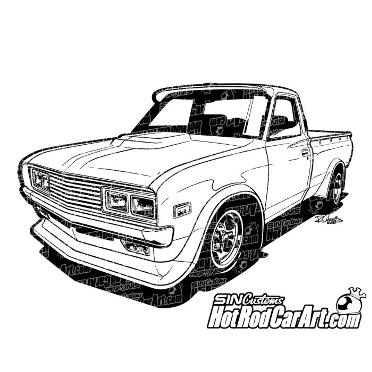 small resolution of 1978 datsun pickup 2015 ryan curtis hotrodcarart com