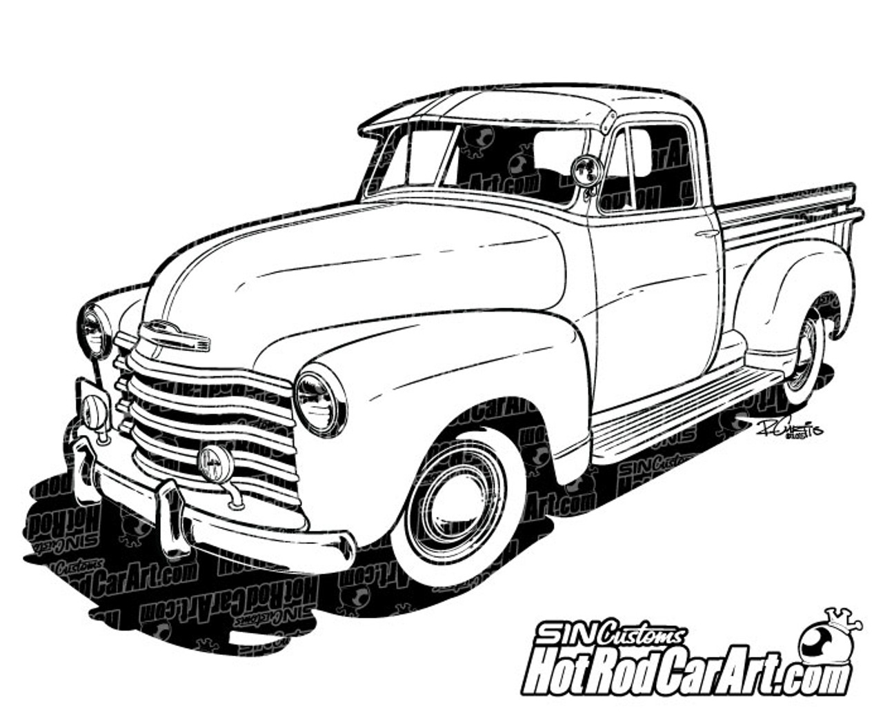 hight resolution of 1947 chevrolet pickup truck 2015 ryan curtis hotrodcarart com