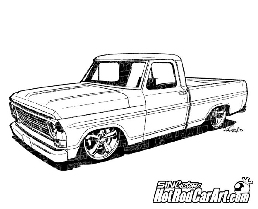 1969 ford truck hot rod
