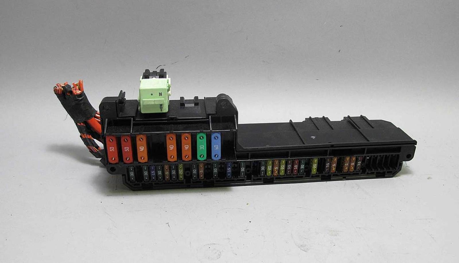 hight resolution of e63 645ci fuse box wiring diagram reviewbmw e60 5 6 series e63 interior glove box front