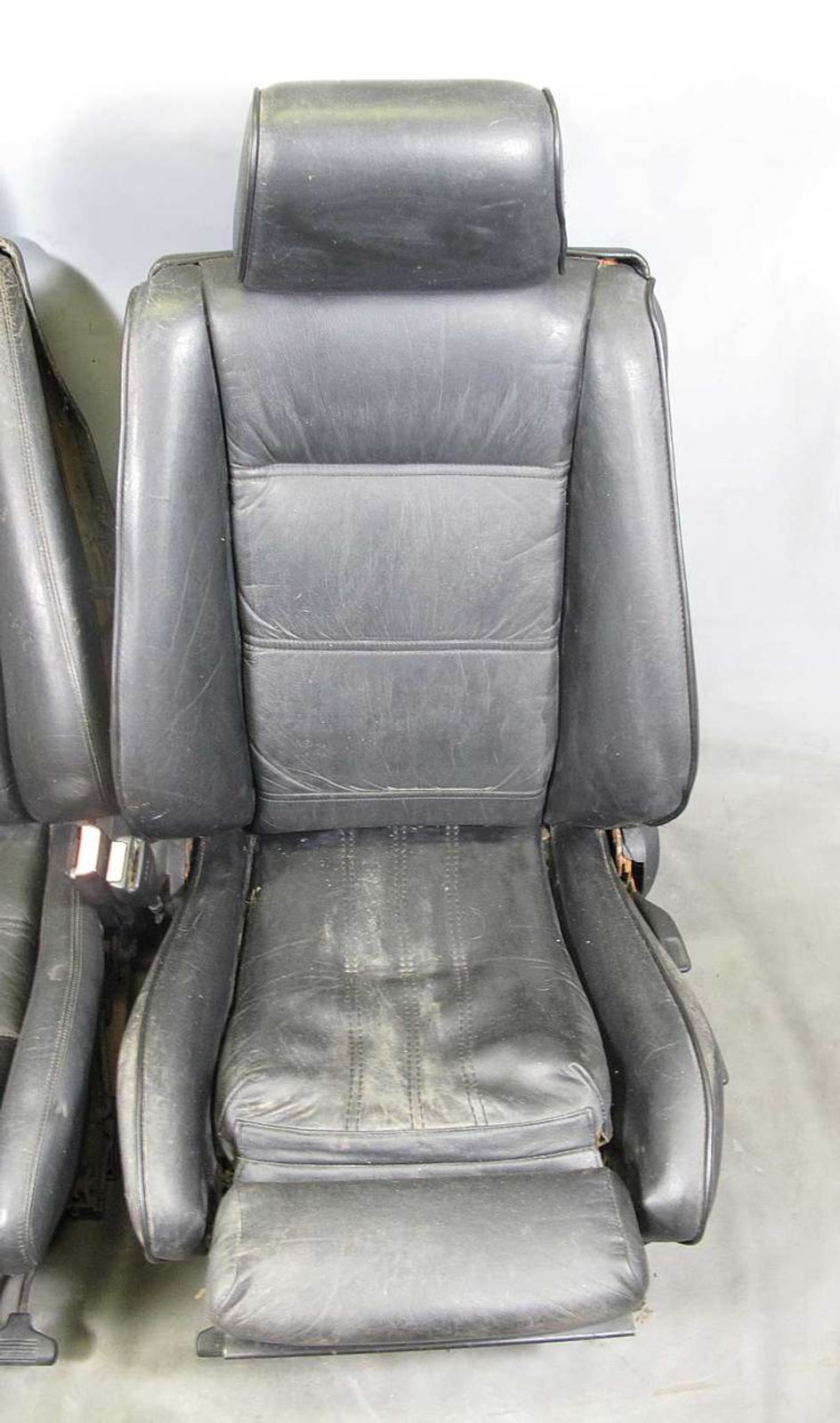 medium resolution of  sports seats pair black leather used img bmw
