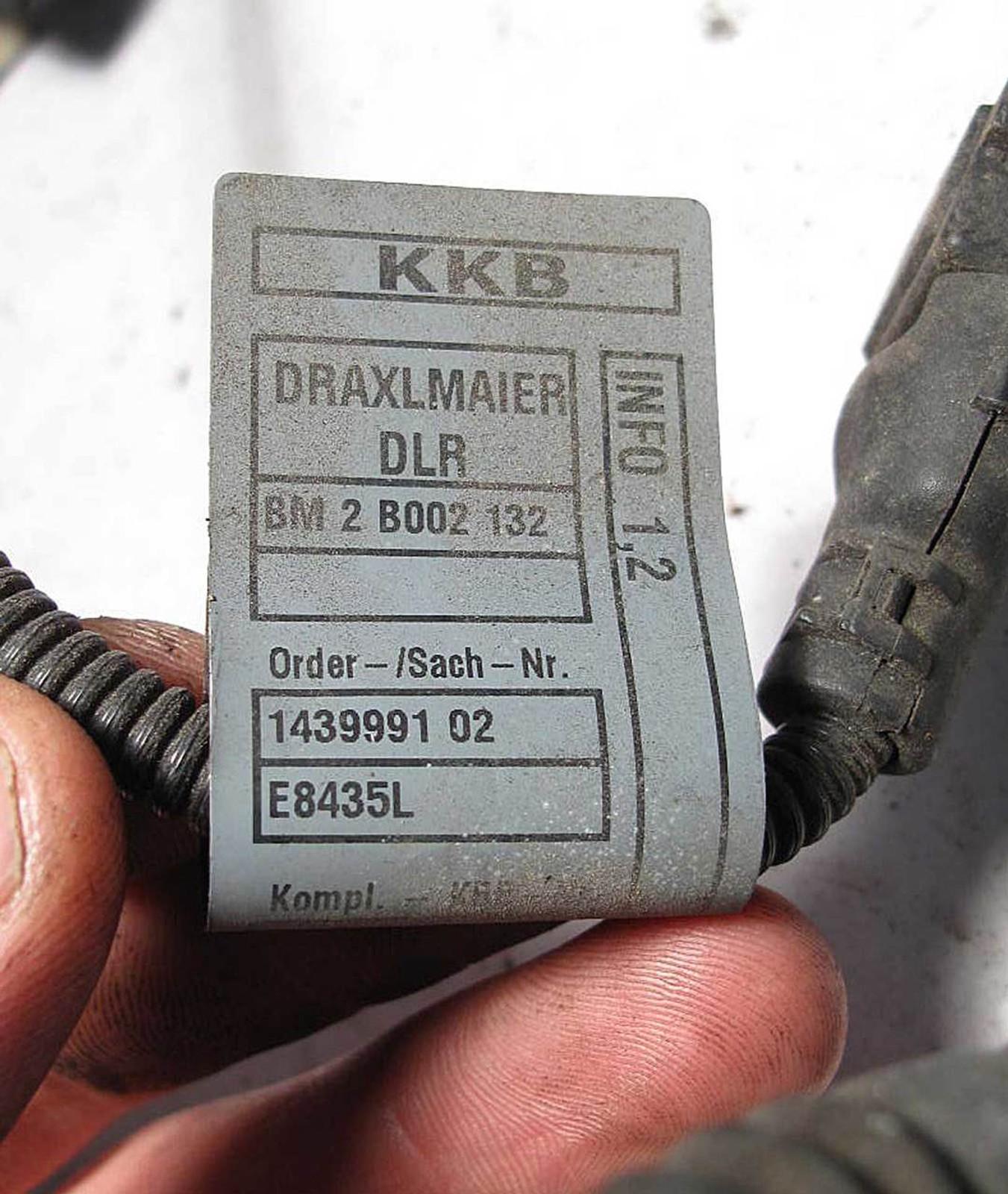 medium resolution of 2000 bmw 323i wiring harnes