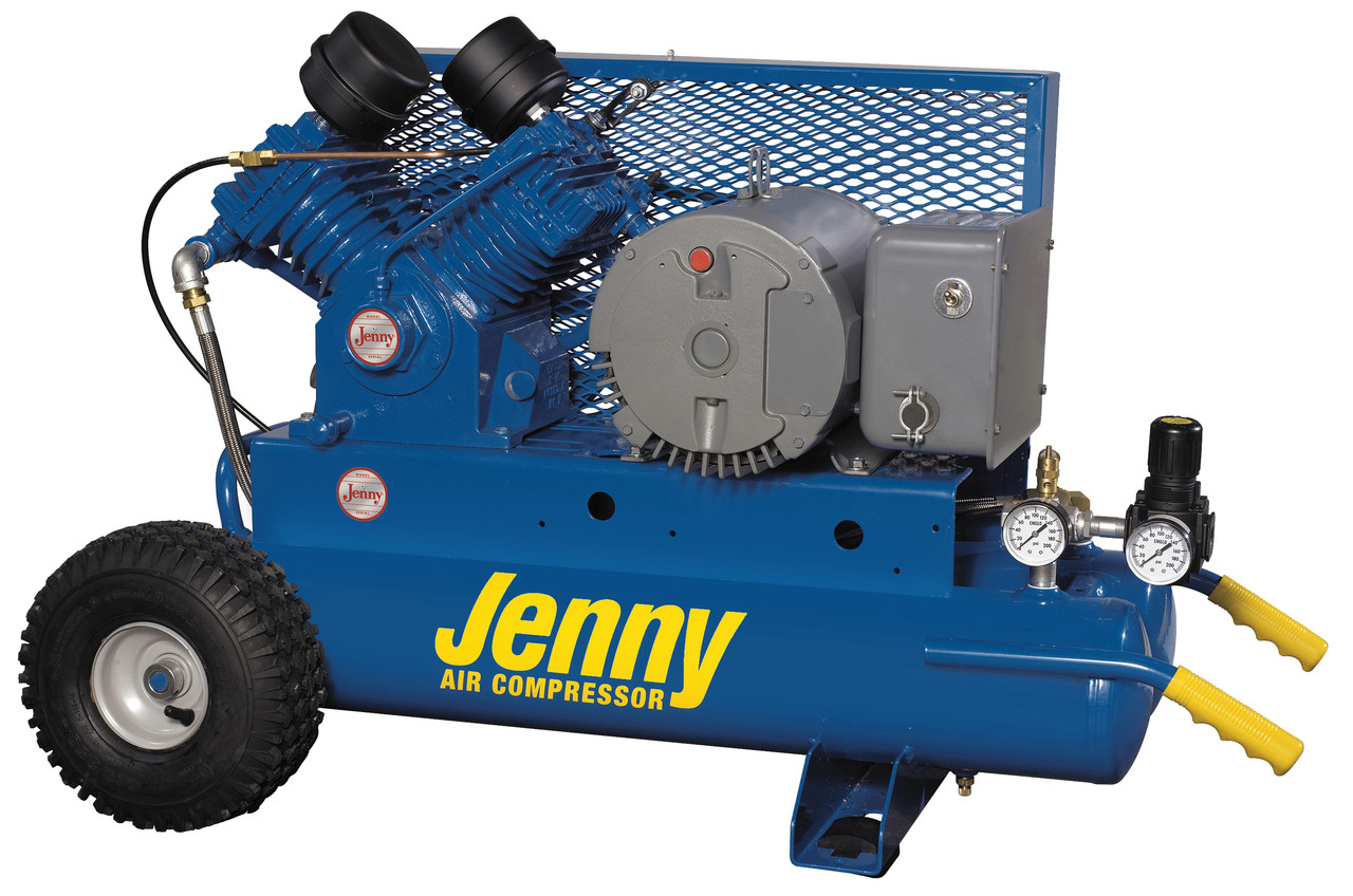 Twin Tank Air Compressor