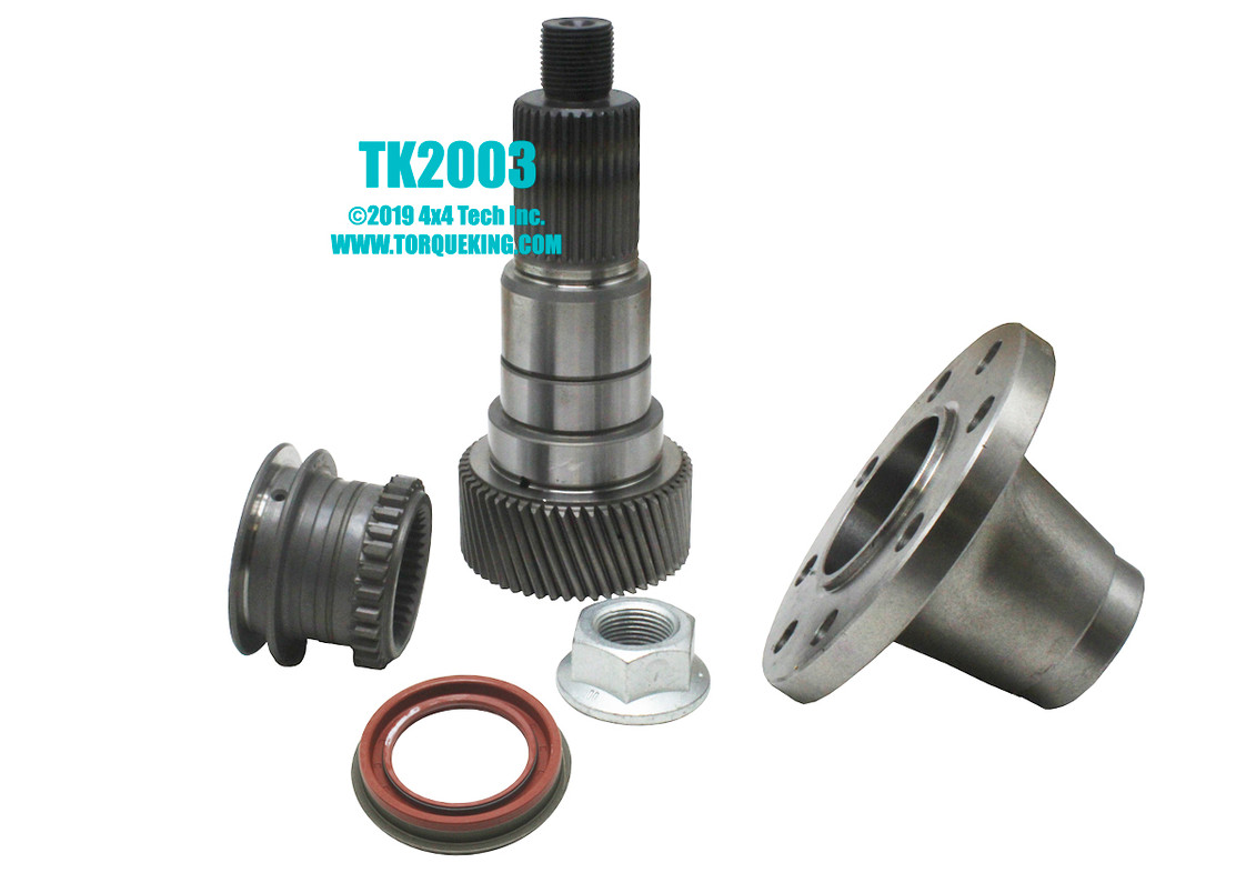 hight resolution of tk2003 divorce conversion kit for married nv271f and nv271d transfer cases