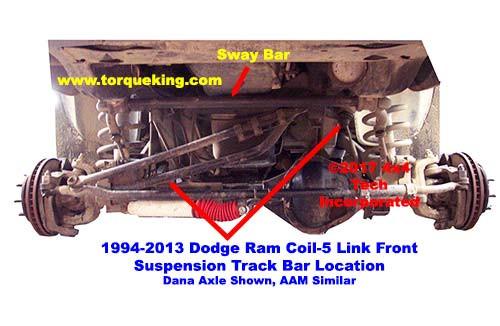 Dodge 2500 4x4 Track 2003 Bar