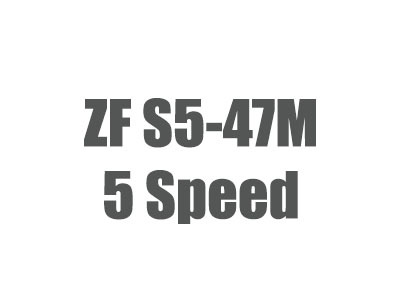ZF S5-47M Parts, Manuals 1999-2002 Ford F-Series Transmissions
