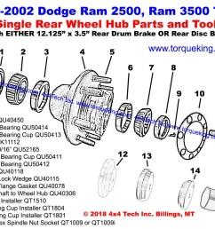 ram rear wheel hub xview bw drawing b  [ 1200 x 900 Pixel ]