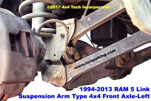 Dodge Ram 5Link front CoilLink Suspension | Torque King 4x4