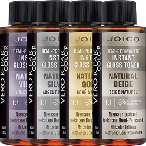 Joico demi permanent instant gloss toner natural haircolor also rh sleekshop