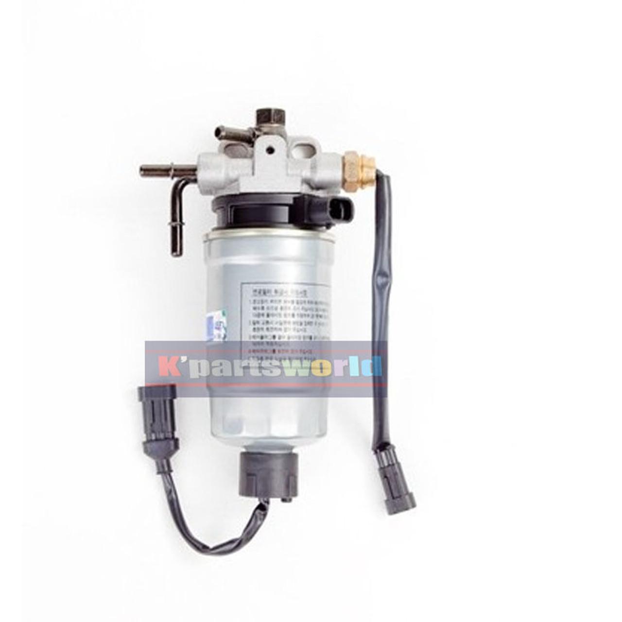 hight resolution of k243 fuel filter water separator assy for hyundai santafe cm 2 2 31970 2b901