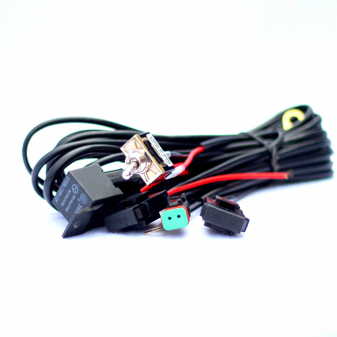 hight resolution of southern lite led wiring harness includes toggle switch water tight dt connecter and